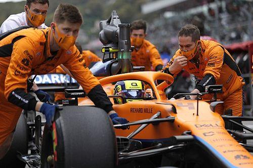 """F1 - Chefe da McLaren admite que errou ao manter Norris na pista: """"Queríamos a vitória"""""""