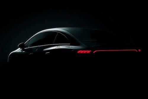 Ecco il primo teaser della nuova berlina elettrica Mercedes EQE