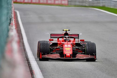 "Sainz: Ferrari's struggles at wet Spa ""not normal"""