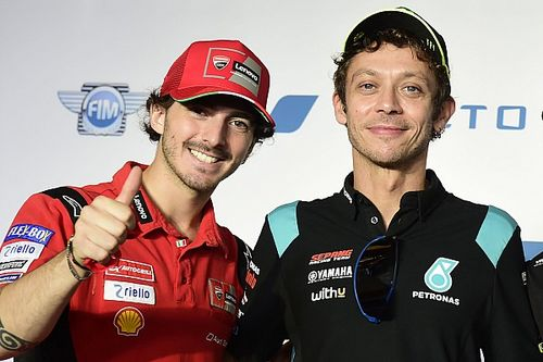 Francesco Bagnaia: Valentino Rossi Memacu Saya untuk Jadi yang Terbaik