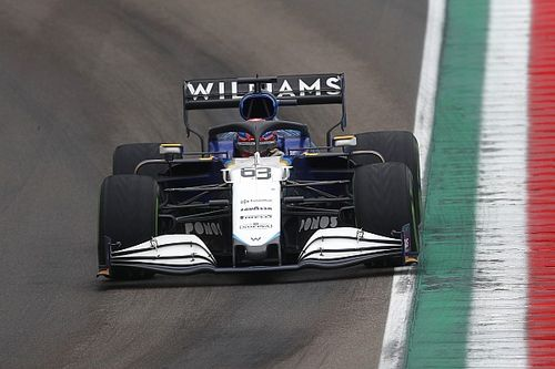 Russell apologises to Bottas after Imola F1 shunt reaction