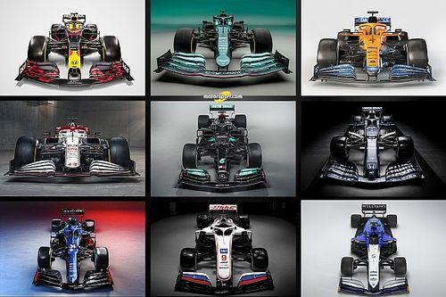 GALERÍA: los F1 2021 presentados hasta ahora