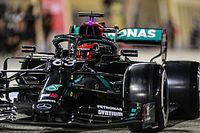 "Russell says fastest practice laptimes ""deceiving"""