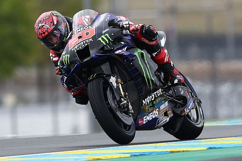 French MotoGP: Quartararo snatches pole in dramatic qualifying