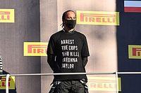 Хэмилтон ждет от FIA новых ограничений из-за своей футболки