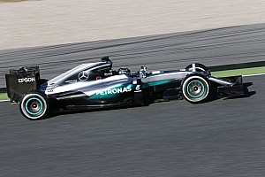Formula 1 Testing report Rosberg dominates opening morning of second Barcelona test