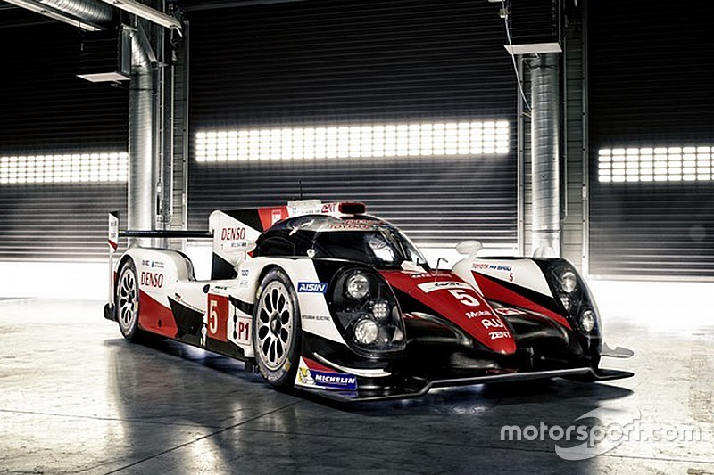 Toyota's new TS050 LMP1 car breaks cover