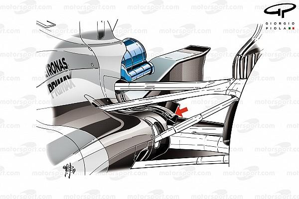 Formel 1 Formel-1-Technik: Mercedes und die Kühlung am F1 W08