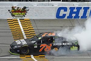 NASCAR Cup Отчет о гонке Труэкс выиграл гонку Tales of the Turtles 400