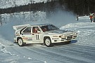 Watch WRC's Group B cars in action in Rally Sweden 1986