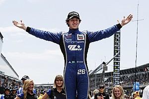 Indy Lights Gara Matheus Leist centra il successo alla Fredoom 100 all'esordio su ovale