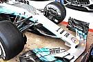 Brutális új első szárnnyal állt elő a Mercedes Barcelonában