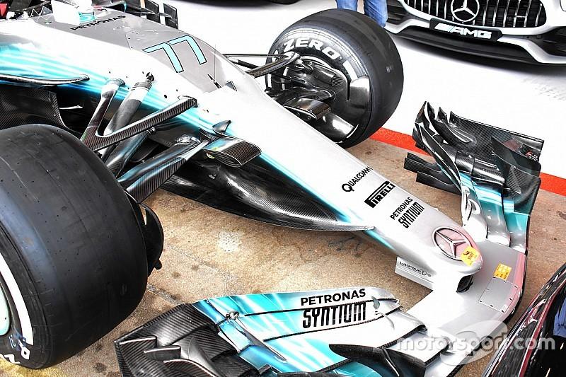 【F1】メルセデス、スペインGPに大規模なアップデートを投入