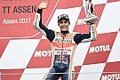 MotoGP Márquez savait qu'il pouvait perdre gros à Assen