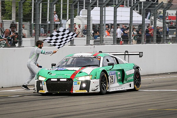 【ニュル24h】29号車アウディが劇的勝利。日本勢はクラス制覇ならず