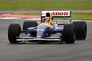 Vintage Breaking news Mansell's 1992 F1 car to run again at Silverstone