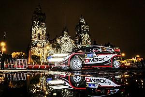 WRC Важливі новини Машини WRC у вогнях чарівного Мехіко