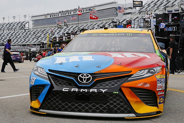 NASCAR Cup Practice report Kyle Busch leads train of Toyotas in Friday's second Cup practice