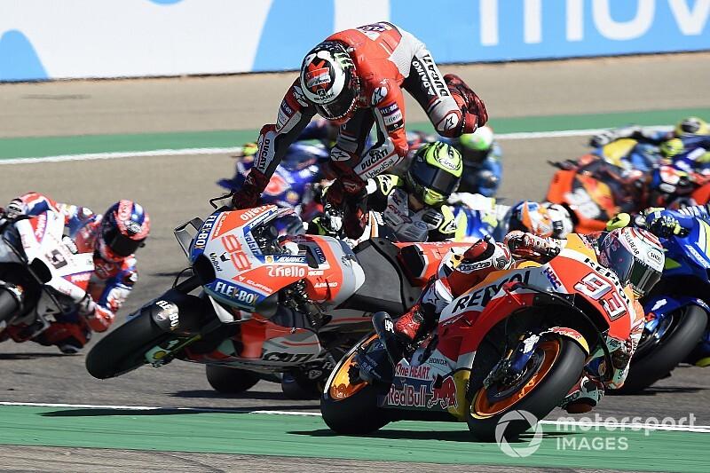 Lorenzo: Márquez destruiu minha corrida e meu pé