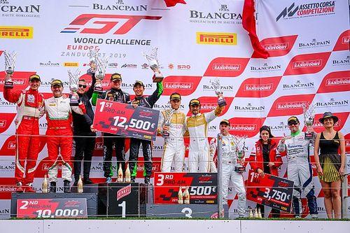 ブランパンGTヨーロッパ:濱口/キーン組がプロ・アマクラス連勝でタイトルに前進