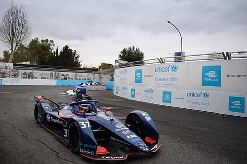 Rome E-Prix: Cassidy tops damp practice ahead of Gunther
