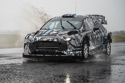 WRC: primeras fotos del Ford Fiesta Rally1 híbrido de M-Sport