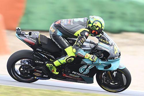 """Rossi: """"Me preocupa mucho que lo estoy probando todo y no voy rápido"""""""