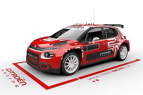 Poprawiony Citroen C3 Rally2