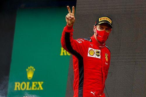 """Vettel: """"Her zaman bir Ferrari taraftarı olarak kalacağım"""""""