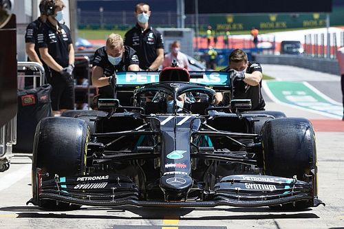 La Mercedes a plus qu'une nouvelle livrée en Autriche