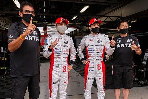 SGT第2戦 GT500予選|ARTA NSX-GTが今季初ポール、ホンダ勢がフロントロウ独占