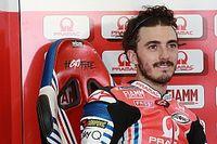 Bagnaia, fuera de Brno por lesión en la rodilla