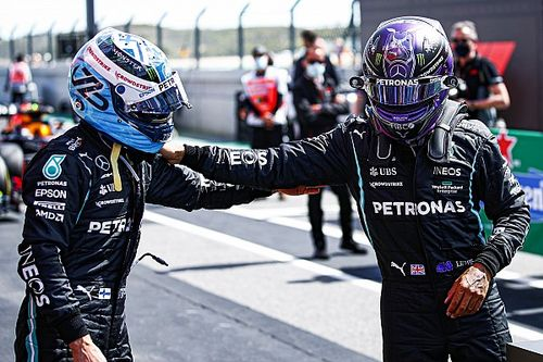 F1 champion Hamilton: People need to give Bottas a break