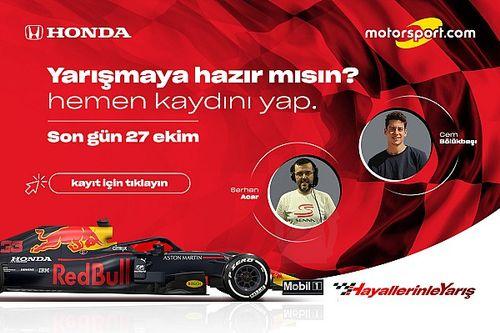 Hayallerinle Yarış Honda e-GP kayıtları 23 Ekim'de başlıyor