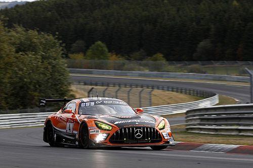 24 uur Nürburgring: Engel bezorgt HRT pole op natte Nordschleife