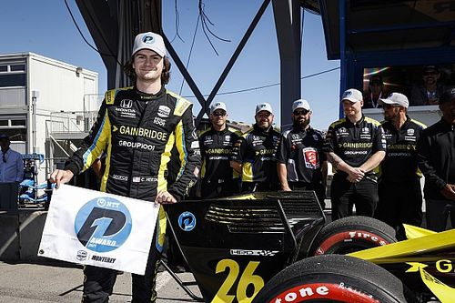 Laguna Seca IndyCar: Herta takes pole, heads Andretti 1-2