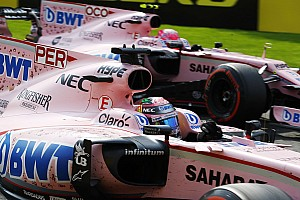 Formula 1 Race report Perez and Ocon no longer free to race - Force India