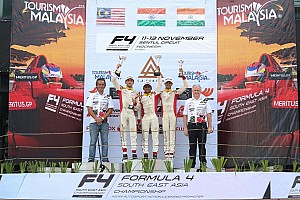 Formula 4 SEA Race report Sentul F4: Gowda wins Race 2, Nalwalla claims two podium finishes