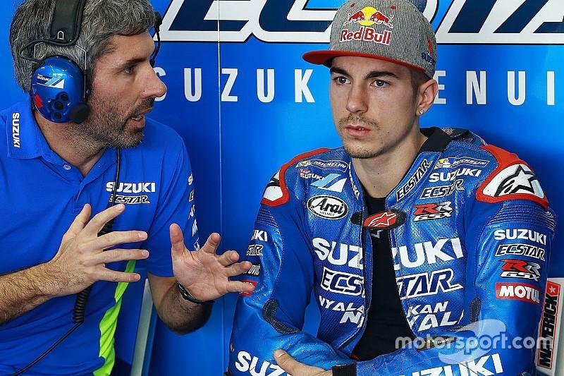 Vinales: Suzuki's communication better than Yamaha's