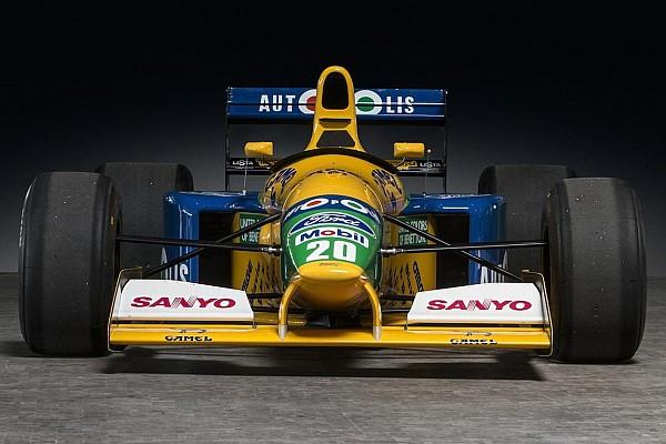 Te koop: Eerste Benetton F1-wagen van Michael Schumacher