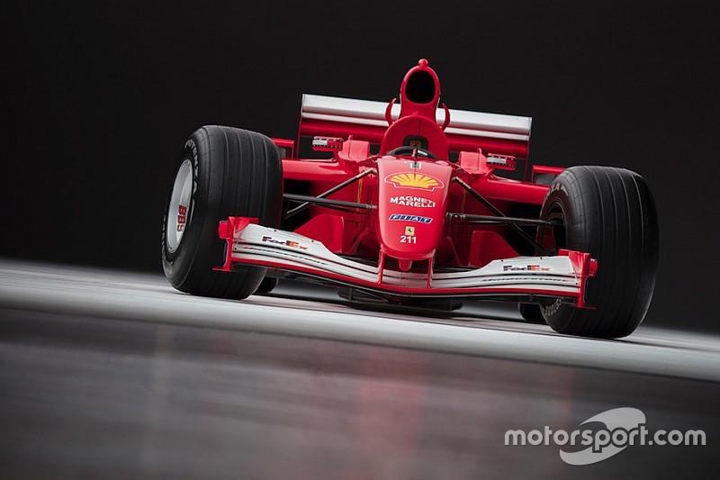 Aukcióra bocsájtják Schumacher legendás F1-es Ferrari versenygépét