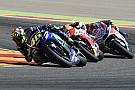 """MotoGP Lorenzo en Marquez lovend over sensationele comeback Rossi: """"Indrukwekkend"""""""