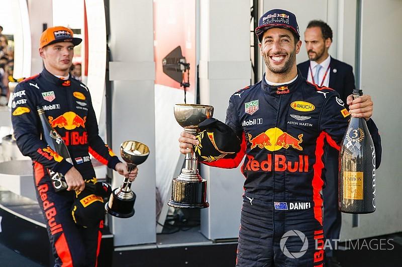 Red Bull veut Ricciardo et Verstappen jusqu'en 2020