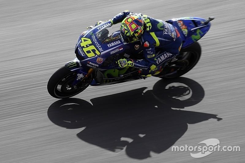Grâce à la pluie, Valentino Rossi revient de loin