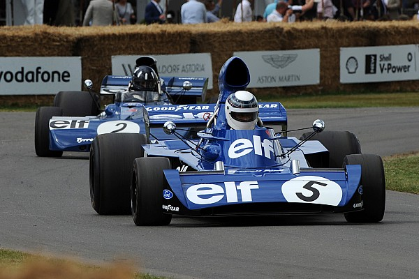 Vintage GALERI: Aksi mobil-mobil F1 di Goodwood Festival of Speed