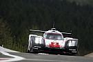 WEC Porsche a lutté contre les éléments à Spa