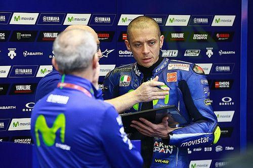 Rossi teste une évolution de châssis, sans succès