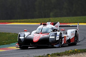 WEC Practice report Spa WEC: Toyota edges out Porsche in first practice
