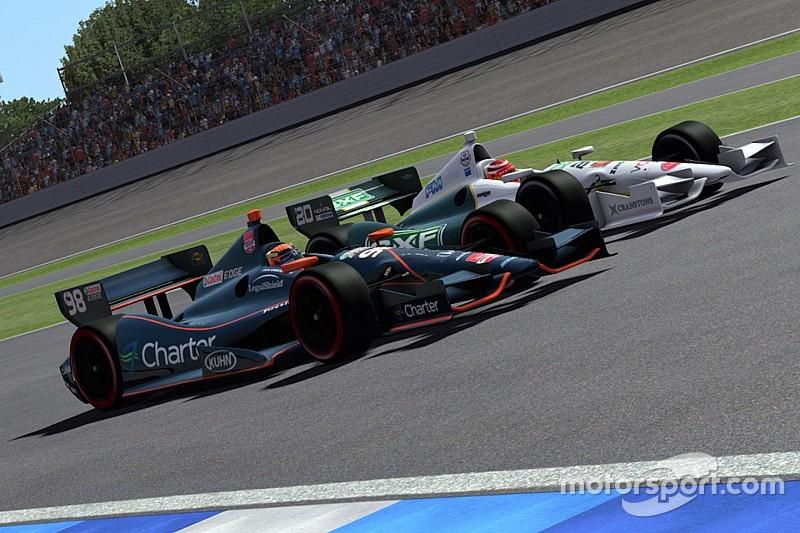 Live simracing: SRVN IndyCar-race op Canadian Tire Motorsport Park