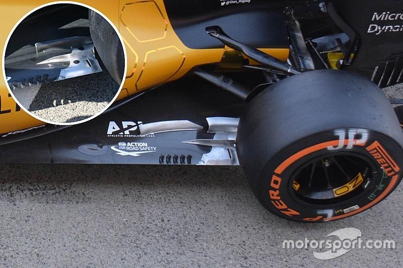 Технічний брифінг: Днище Renault RS16